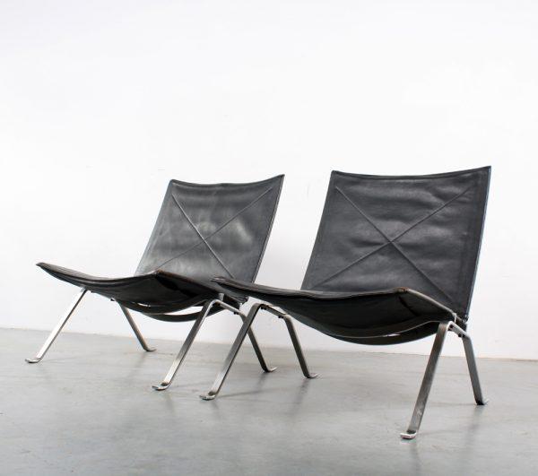 PK22 Poul Kjaerholm design Kold Christensen chair fauteuil