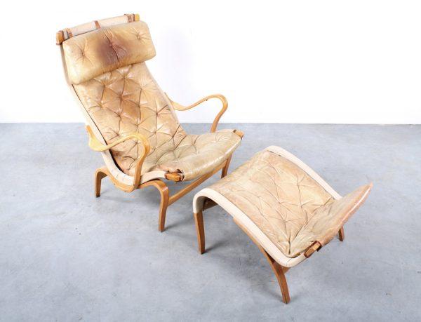 Pernilla lounge chair DUX design Bruno Mathsson