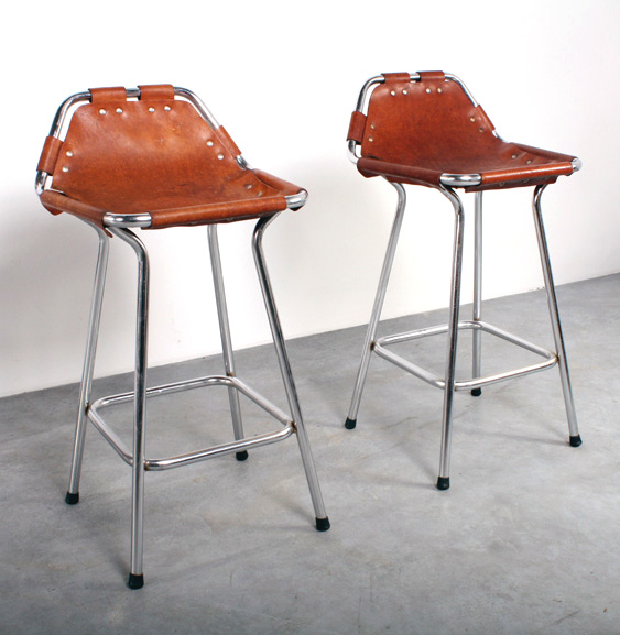 Perriand bar stool design kruk Les Arcs