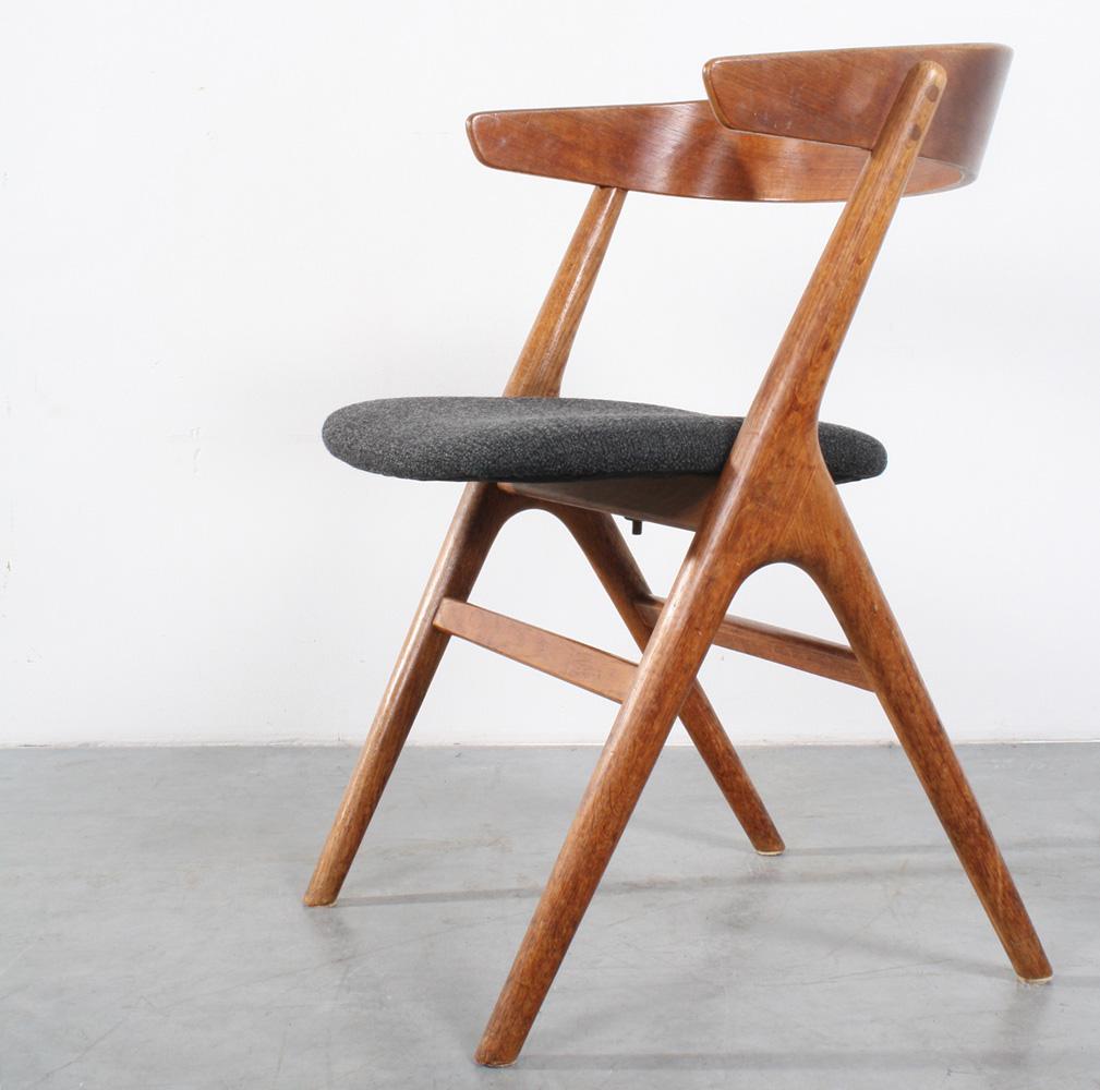 Studio1900 sibast chair danish design stoel for Design retro esstisch scandinavia