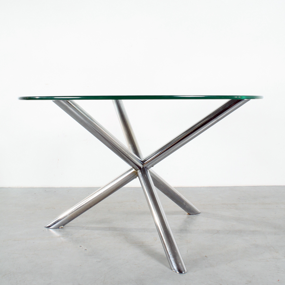 Studio1900 table design roche bobois tripod tafel for Table extensible roche bobois