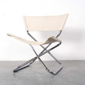 Z down chair design Erik Magnussen fauteuil folding