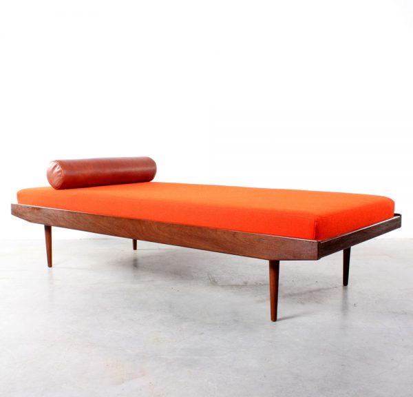 Daybed teak Danish design Deens retro jaren 60 bed