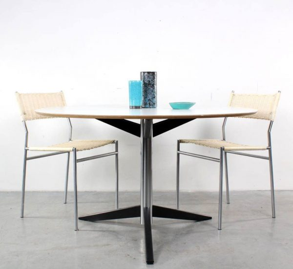 Tafel Martin Visser TE06 design table Spectrum retro