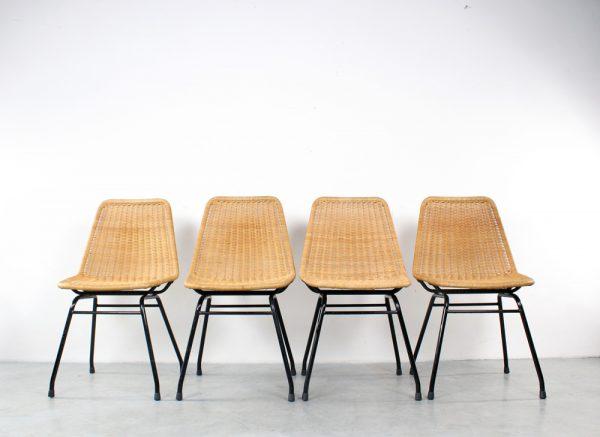 Rohé Noordwolde rattan chairs toelen design rotan