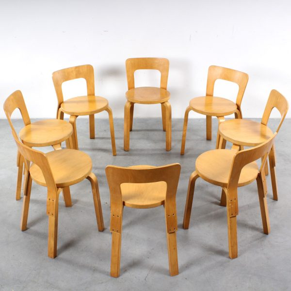 Alvar Aalto chair 65 design stoel Artek