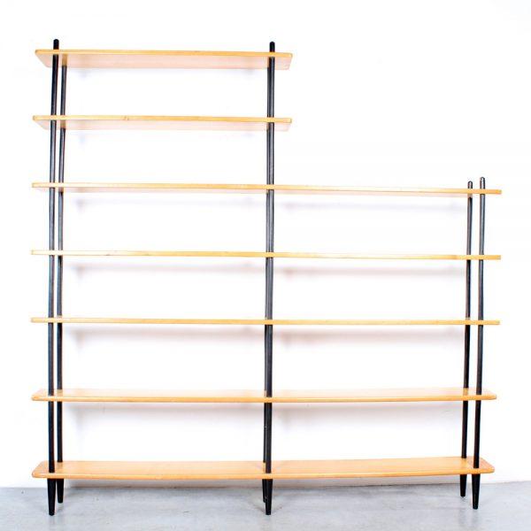 Lutjens de Boer bookcase design boekenkast birch