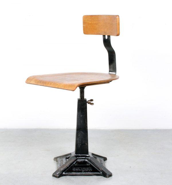 Singer stool kruk industrial working chair