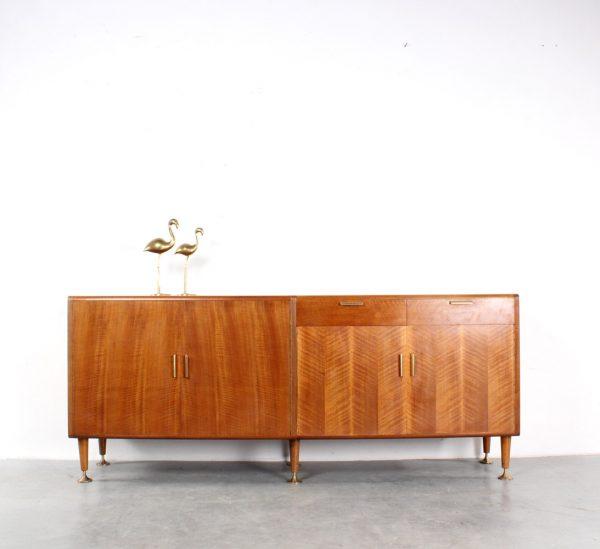 AA Patijn design walnut sideboard Zijlstra dressoir