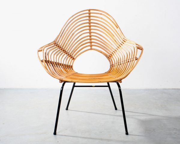 Fauteuil rotan design rattan chair Rohé Noordwolde