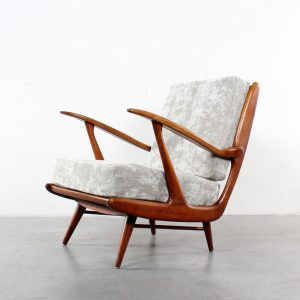 Lounge chair Dutch fifties design Pastoe