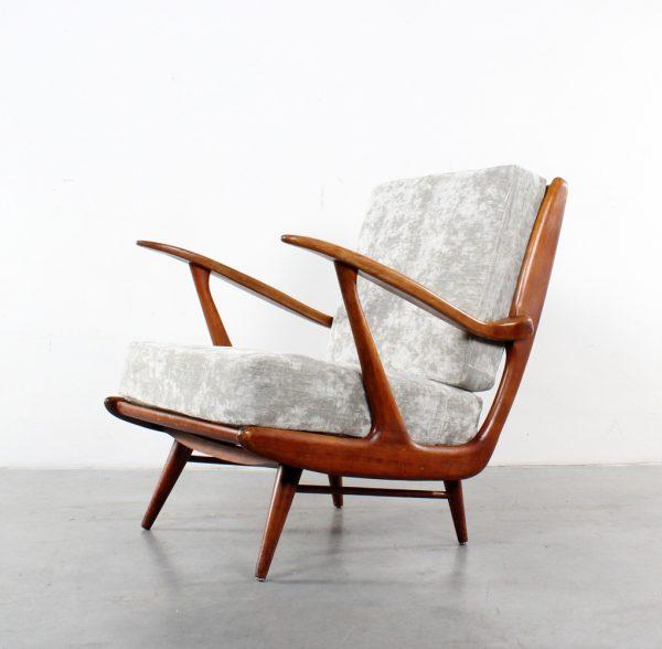Lounge chair Dutch fifties design Pastoe