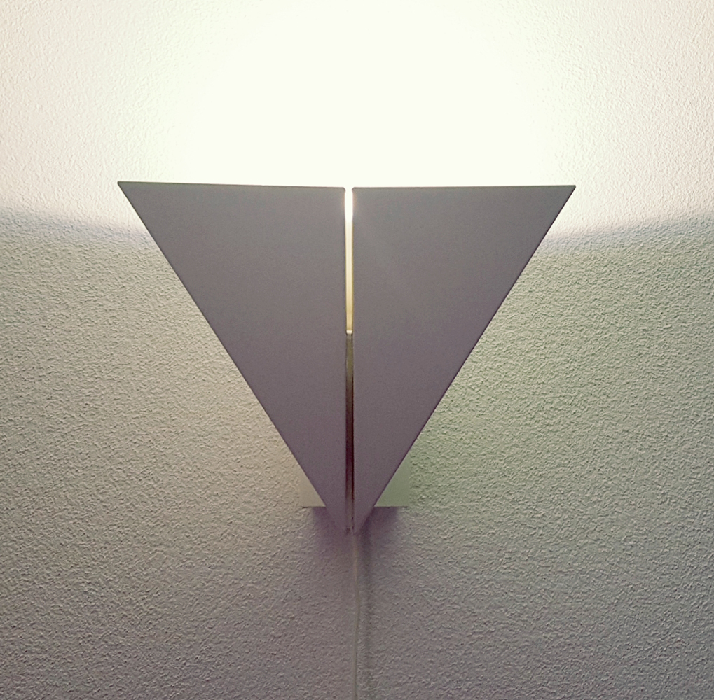 Mart van Schijndel wandlamp design origami sconce Martech
