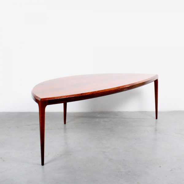 Silkeborg design Johannes Andersen coffee table rosewood