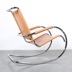 Bauhaus rocking chair design Stam Rohe