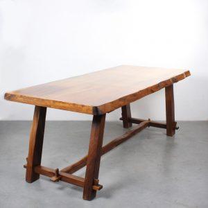 Brutalist design dining table