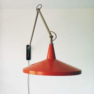 Gispen lamp model Panama design Wim Rietveld