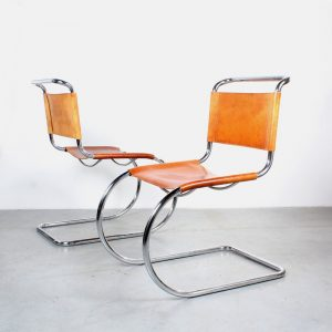 Mies van der Rohe design Fasem dining chairs