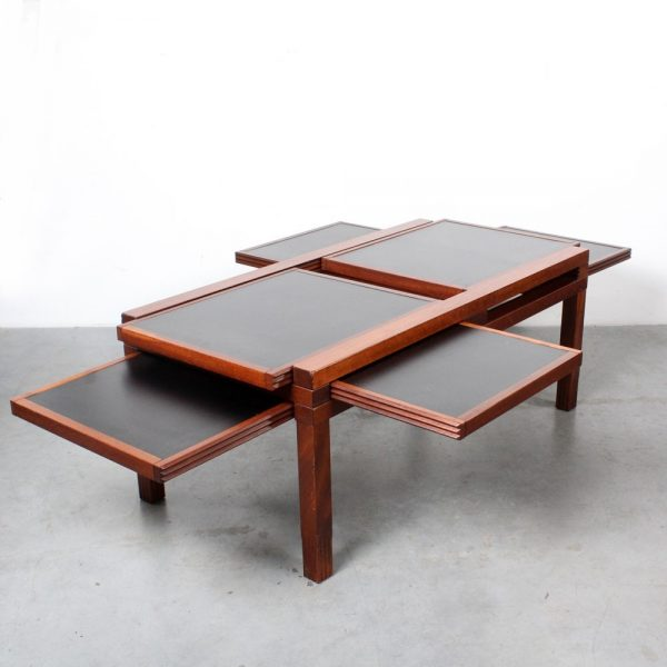 Hexa coffee table Bernard Vuarnasson design Belatto