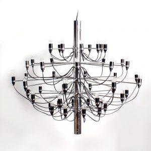Arteluce chandelier design Gino Sarfatti