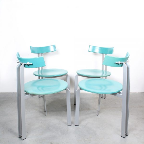 Harvink chairs Zeta eighties Dutch design