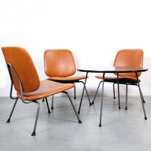 Kembo design WH Gispen chairs
