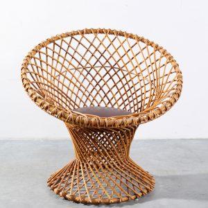 Fauteuil rotan design Rohe Noordwolde chair rattan