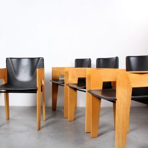ARCO dining stoelen design Arnold Merckx