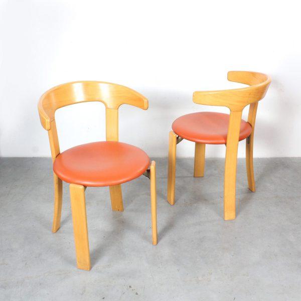 Kusch Co dining chairs design Bruno Rey