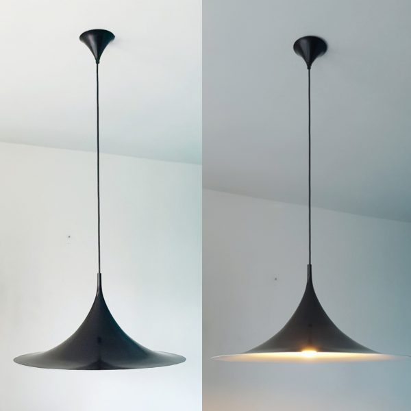 Semi ceiling lamp design Fog and Morup