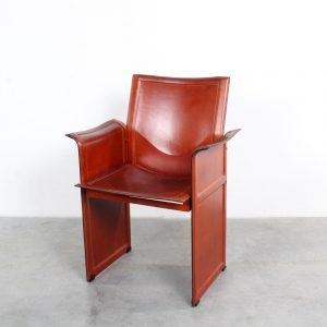 Korium leather chair Italy