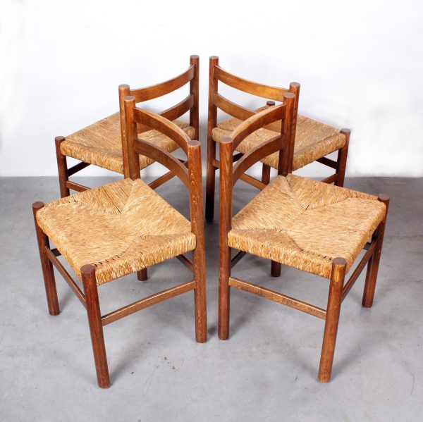 Perriand style dining chairs